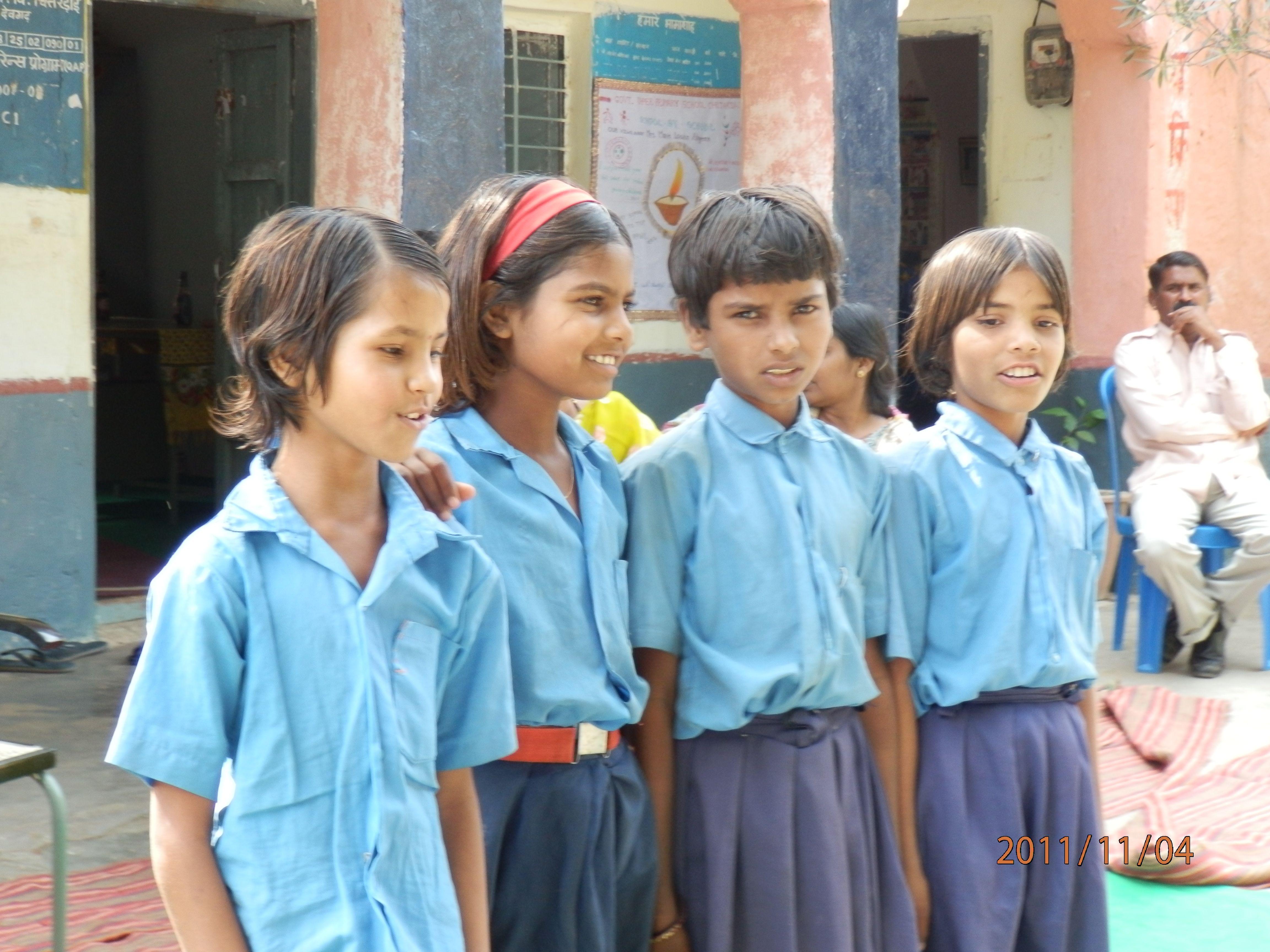 Students at Chitardai School
