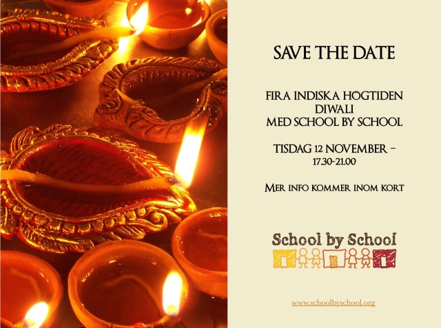 Diwali save the date 2013