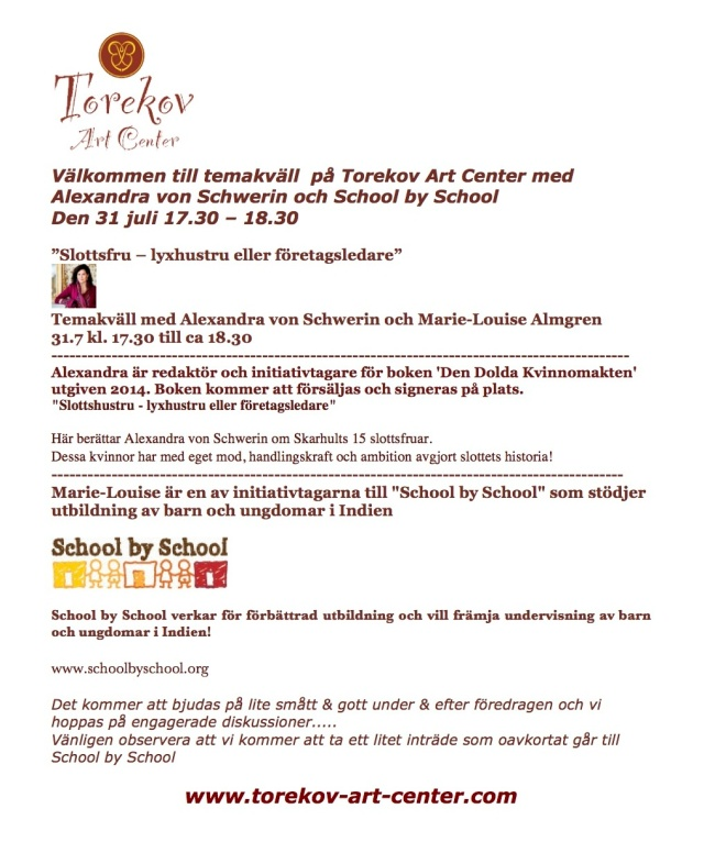 Torekov Art Center och School by School 31 juni 14-2 kopia